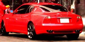 Red Cambiocorsa Coupe by toyonda