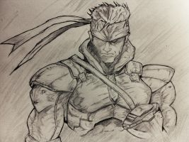 Solid Snake by DiegoE05