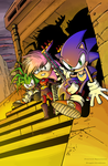 Sonic Underground Colouring by Ziggyfin