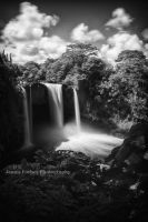 Rainbow Falls Infrared by JForbes1701