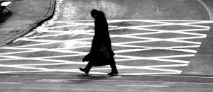 walking shadow by GSMStreetPhotography