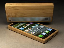 iPhone bamboo 8 by eco6org