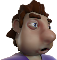 Zbrush doodle day 252 - Theo by UnexpectedToy