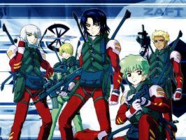 ZAFT - Youth Squad by tenohikari