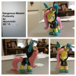 Dangerous Mission Fluttershy by Nsomniotic