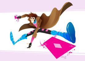 Gambit for lulz by RangyRougee