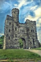 Bancroft Tower - HDR by aeroartist