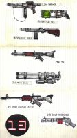 Gun designs by YouCannotFalter