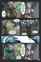 ARAM Adventures - Ekko x Jinx by FarahBoom