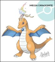 Mega Dragonite by Fronty--Octopuss