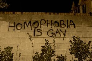 Gay Graffiti by VincentLillis