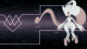 Mewtwo new form wallpaper by Elsdrake