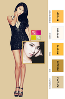 SISTAR Bora Twitter Layout by Your-luv
