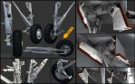 F-14D wip 6 Main Gear by Siregar3D