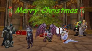 Merry Christmas from Azeroth by Avelion-chan