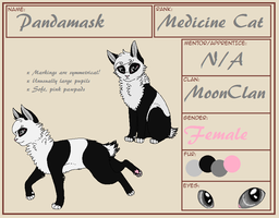 Pandamask Reference V3 by xLunarsongx