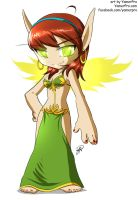 Chibi Blood Elf by Yamer by StarDragon77
