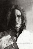 Severus Snape WIP2 by EternaLegend