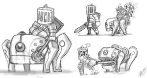 idea para monturas spiral knights by MrsLaz