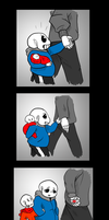 Undertale - Speaks in Hands by JollyGoodDonnyBrook