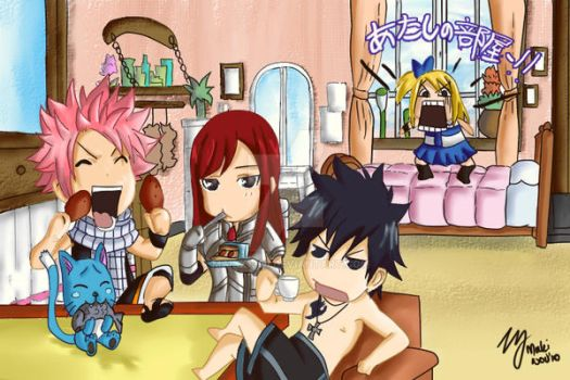 Fairy Tail by makix1994