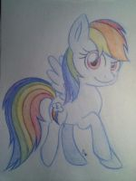 Rainbow Dash by Star-Sketcher-MLP