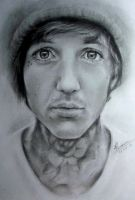 Oliver Sykes by CastrumAethereus