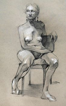 Figure Drawing 14 by yolque