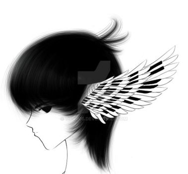 Piano Wings by tifa005