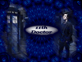 11th Doctor Wallpaper by EpitaphOfTwilightCe