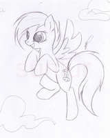 MLP OC: Windfall WIP by Sunfur