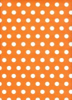 Orange paper texture with white dots by mercurycode
