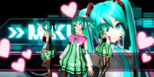 Colorful x Melody Miku Dt by GrayFullbuster21