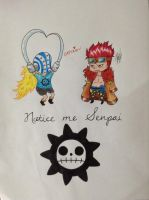 One Piece Killer and Kid Chibi by The-cute-cat