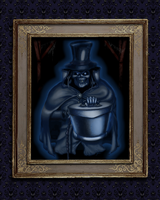 The Hatbox Ghost's Portrait by Captain-Halfbeard