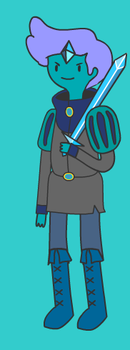 Adventure Time Character-Blue Prince by MegaRayquaza007