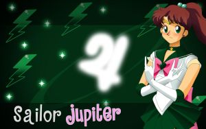Sailor Jupiter wallpaper 2.0 by killzone667