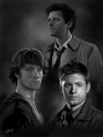 Team Free Will (younger versions) by RussianVal