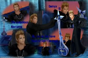 KH- Demyx by EmotionalDisaster666