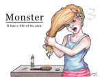 Struggles-Monster by MMWoodcock