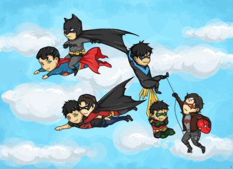 Up up and away! by Kazrael