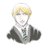 Draco Malfoy by usagistu