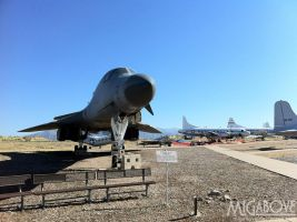 B-1 bomber by MiGabove