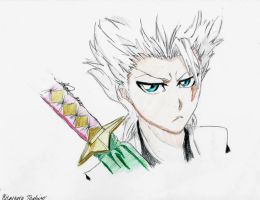 Toshiro by MaryM8D