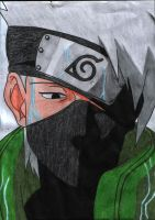 Kakashi 4 by Bloodshedshuriken