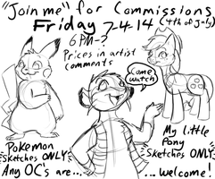 JOIN ME for commissions: OVER UNTIL NEXT TIME by Tatta-Kasame