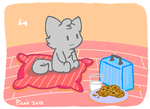 Cookie milk kitty by Picnicel