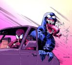 VENOM CAR RIDE by RyanOttley