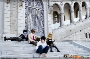 Death Note group V by MarineOrthodox