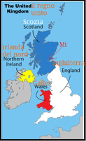 Basic uk map with some italin by AerrowXPiperlover